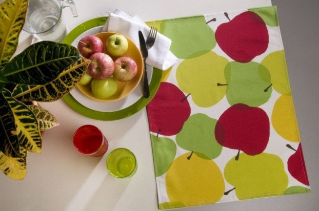 Suport farfurie Apple set 2 bucati 35x50 cm